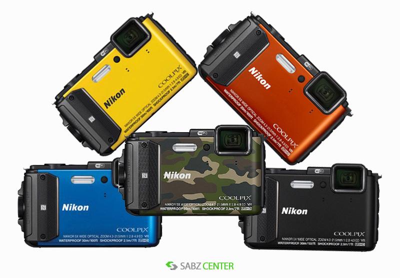 SabzCenter-Nikon-Camera-Coolpix-Aw130-01-Down