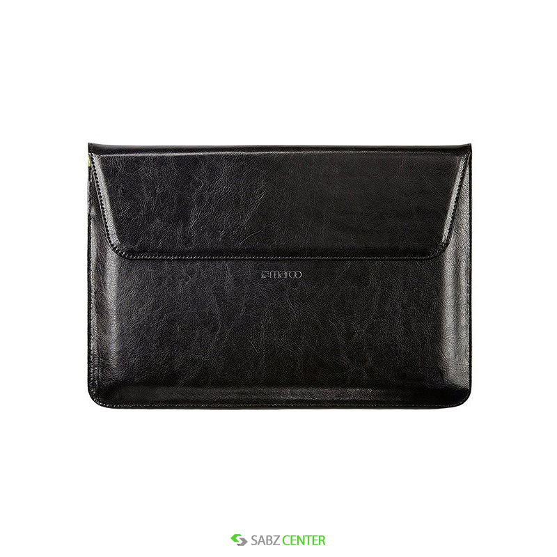 کاور لپ تاپ Maroo Black Leather Sleeve Cover Surface