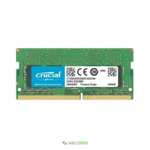 رم Crucial SODIMM DDR4 2133 CT16G4SFD8213 Notebook Memory -16GB