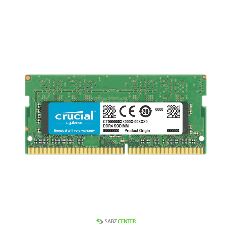 رم Crucial SODIMM DDR4 2133 CT16G4SFD8213 Notebook Memory -16GB
