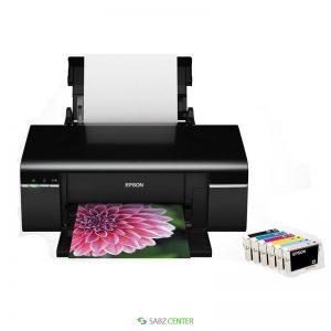 پرينتر Epson Stylus T60 Inkjet Photo Printer