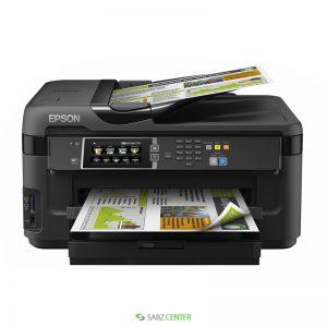 پرينتر Epson WorkForce WF-7610DWF MFP Inkjet Printer