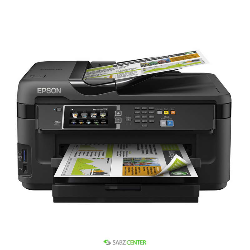 پرينتر Epson WorkForce WF-7610DWF MFP Inkjet Printer