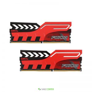 رم Geil DDR4 EVO Forza Series Dual Channel CL16 3200 MHz 8GB