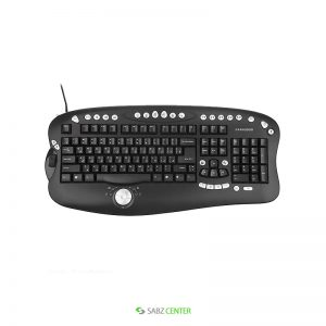 کیبورد Farassoo FCR-8900 Wireless Keyboard