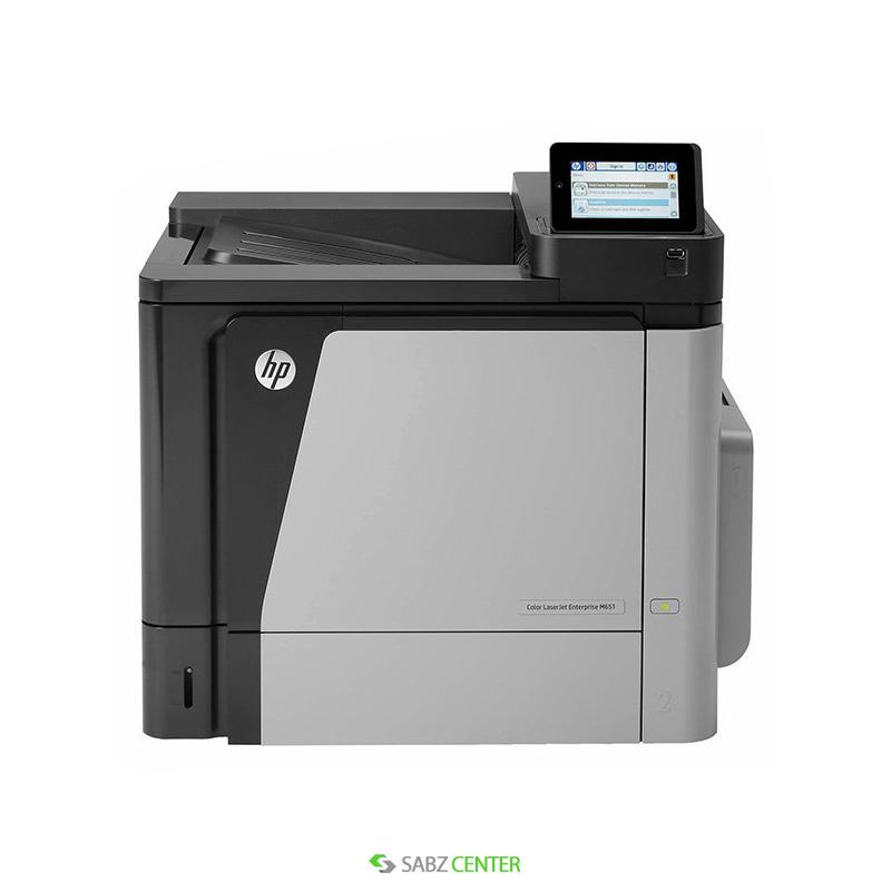 پرینتر HP Color LaserJet Enterprise M651dn Printer