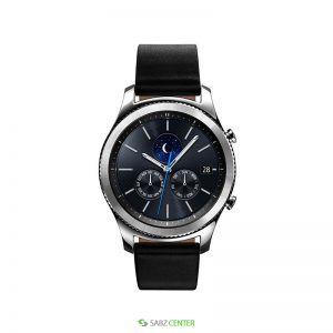 ساعت هوشمند Samsung Gear S3 Classic SM-R770 Black Leather Smart Watch