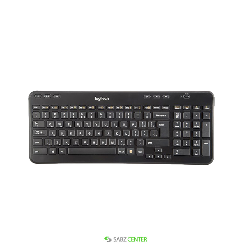 کیبورد Logitech K360 Keyboard with Persian Letters