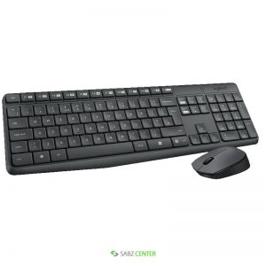 کیبورد و ماوس Logitech MK235 Wireless Keyboard and Mouse