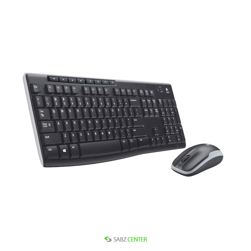 کیبورد و ماوس Logitech MK270 Wireless Keyboard and Mouse