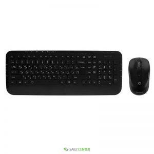 ماوس و کیبورد Farassoo FCM-8220RF Keyboard and Mouse