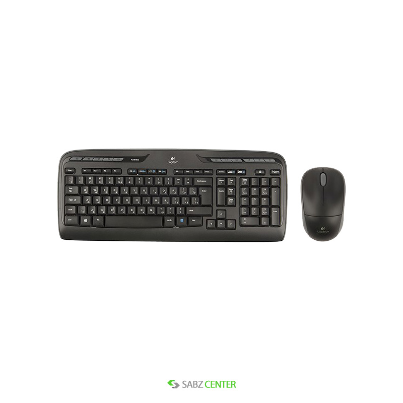 ماوس و کیبورد Logitech MK330 Wireless Keyboard and Mouse