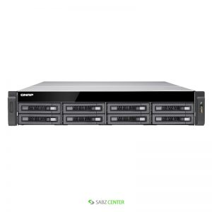 QNAP TS-EC880U-E3-4GE-R2 NAS Exclosure
