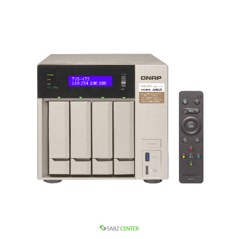 QNAP TVS-473-8G-NAS