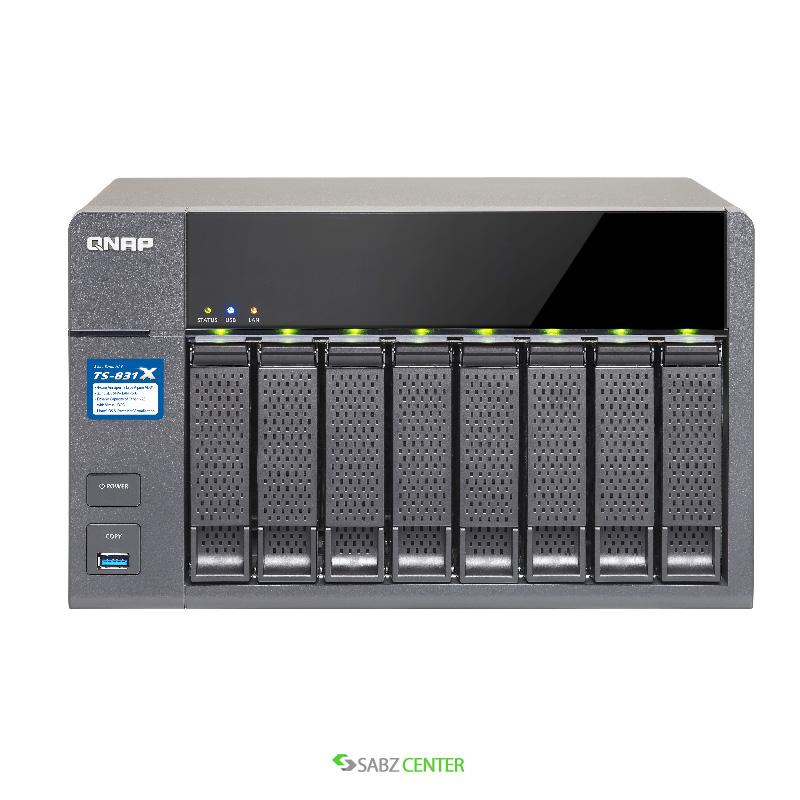 QNAP TS-831X 8-Bay Diskless NAS