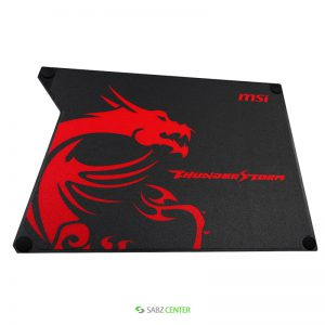 ماوس پد MSI Thunderstorm Alminum Gaming Mousepad