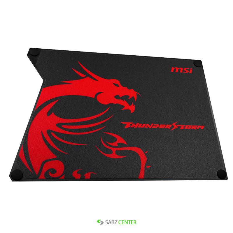 ماوس پد MSI Thunderstorm Alminum Gaming Mousepad