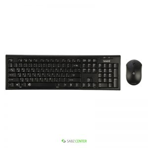 کیبورد و ماوس Farassoo FCM-4530 RF Keyboard and Mouse