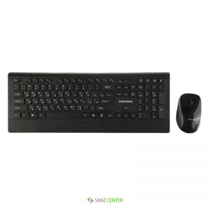 کیبورد و ماوس Farassoo FCM-9595 Wireless Keyboard and Mouse