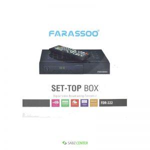 گیرنده دیجیتال Farassoo FDR-222 DVB-T