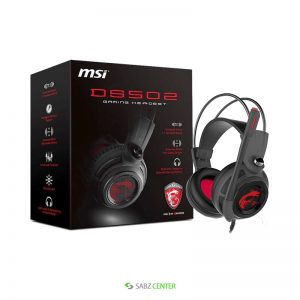 هدست Msi DS502 Gaming Headset
