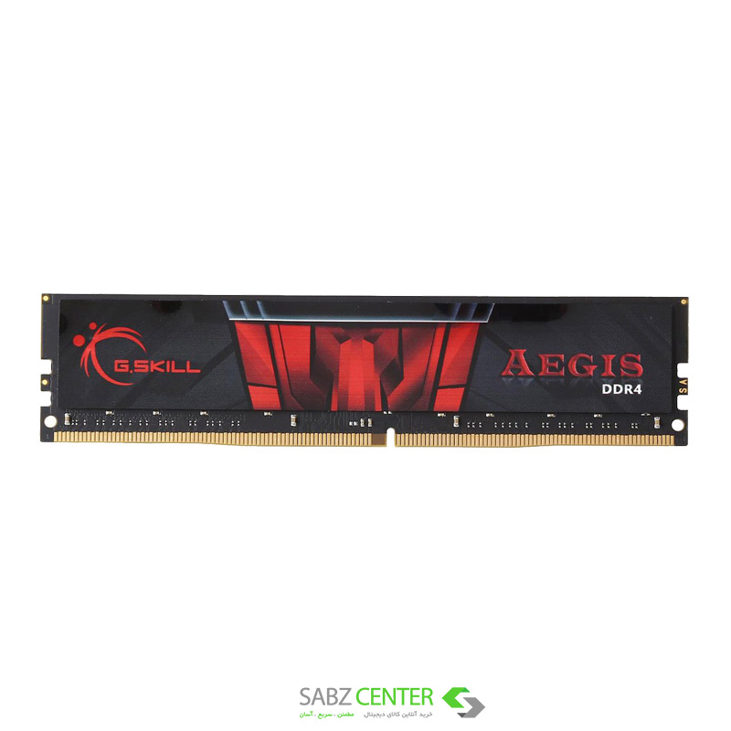 رم دسکتاپ DDR4 تک کاناله 2400 مگاهرتز CL15 جی اسکيل AEGIS