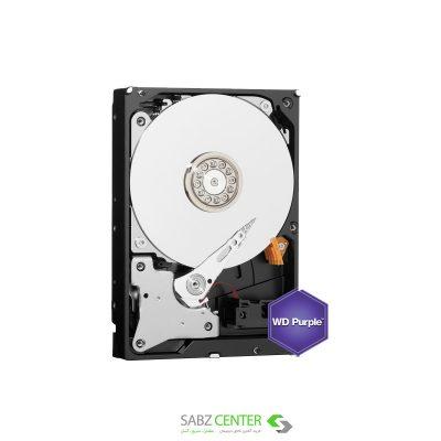 هارد دیسک اينترنال دو ترابایت وسترن بنفش