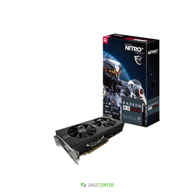 کارت گرافیک سافایر NITRO+ RX 570 4GB