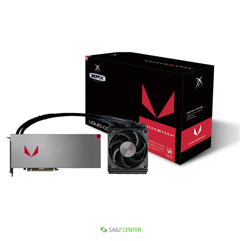 کارت گرافيک ايکس اف ايکس مدل RX Vega 64 Liquid Cooled 8GB