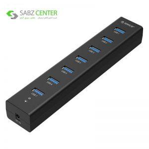 هاب USB 3.0 هفت پورت اوریکو مدل H7013-U3 - 0