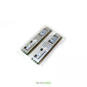رم سرور اچ پی دو کاناله مدل 5300 سریال 397415-B21 با ظرفیت 8 گیگابایت