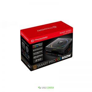 منبع تغذيه کامپيوتر ترمالتيک مدل Smart Pro RGB 850W Bronze