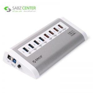 هاب USB3.0 چهار پورت و شارژر اوریکو مدل UH4C4 - 0