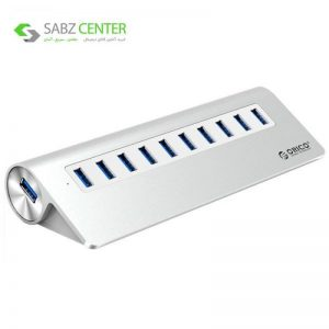 هاب USB 3.0 ده پورت اوریکو مدل M3H10-V1 - 0