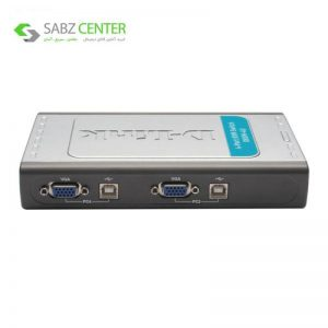 سوییچ 4 پورت USB KVM دی-لینک مدل DKVM-4U - 0