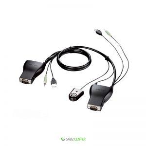 سوییچ 2 پورت USB KVM دی-لینک مدل KVM-222