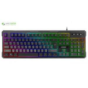 کیبورد مخصوص بازی گرین مدل GK601-RGB - 0