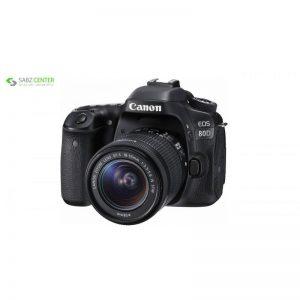 دوربین دیجیتال کانن مدل Eos 80D به همراه لنز EF-S 18-55mm f/3.5-5.6 IS STM - 0