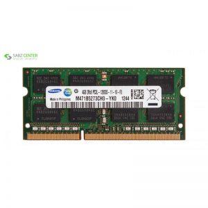 رم لپ تاپ سامسونگ مدل DDR3 12800S MHz ظرفیت 4 گیگابایت - 0