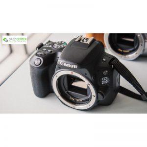 دوربین دیجیتال کانن مدل EOS 200D به همراه لنز EF-S 18-55 mm f/4.5-5.6 IS STM - 0