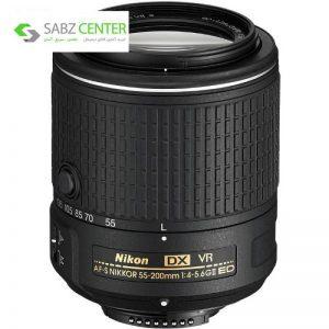 لنز نیکون مدل AF-S DX NIKKOR 55-200mm f/4-5.6G ED VR II - 0