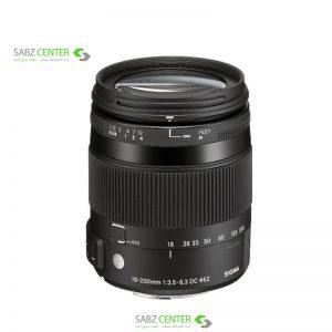لنز سیگما 18-200MM F3.5-6.3 DC OS / HSM
