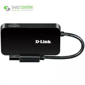 هاب USB3.0 چهار پورت دی-لینک مدل DUB-1341 - 0