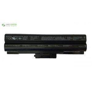 باتری لپ تاپ 6سلولی برای لپ تاپ سونی vgp-bps13 - 0