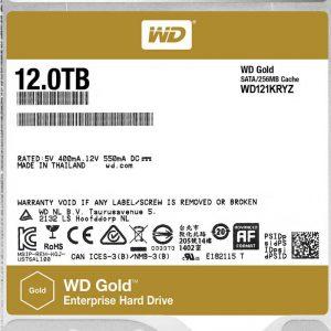 هارددیسک اینترنال وسترن دیجیتال مدل Gold WD121KRYZ ظرفیت 12 ترابایت - 0