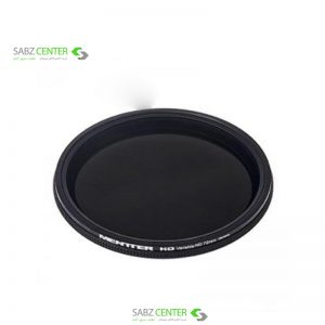 فیلتر لنز منتر مدل ND4-ND1000 Variable HD ND 72mm