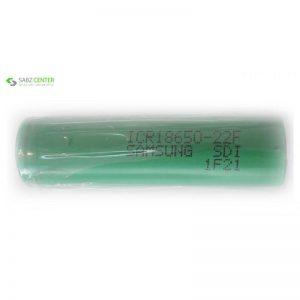 باتری لیتیم یون سامسونگ قابل شارژ مدلICR18650-22F ظرفیت 2200 میلی آمپر بسته 20 تایی - 0