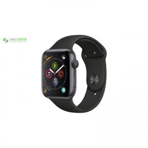 ساعت هوشمند اپل واچ سری 4 مدل 44mm Space Gray Aluminum Case With Black Sport Band - 0