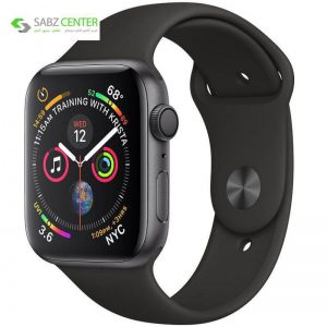 ساعت هوشمند اپل واچ 4 مدل 44mm Space Gray Aluminum Case with Black Sport Band - 0