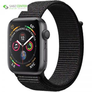 ساعت هوشمند اپل واچ 4 مدل 44mm Space Gray Aluminum Case with Black Sport Loop Band - 0